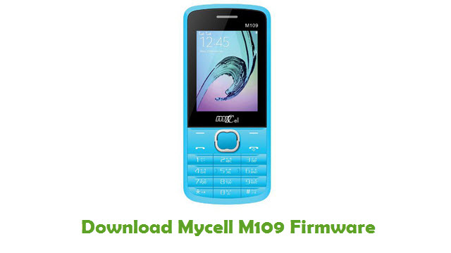 Download Mycell M109 Firmware