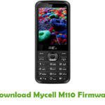 Mycell M110 Firmware