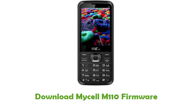 Download Mycell M110 Firmware