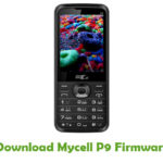 Mycell P9 Firmware