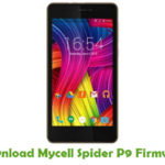 Mycell Spider P9 Firmware
