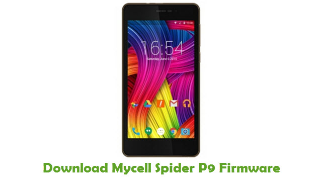 Download Mycell Spider P9 Firmware