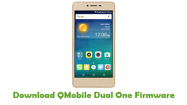QMobile Dual One Stock ROM