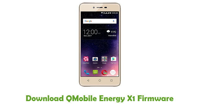 Download QMobile Energy X1 Firmware
