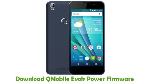 Download QMobile Evok Power Firmware