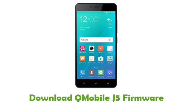 Download QMobile J5 Firmware