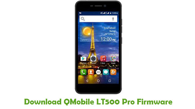 Download QMobile LT500 Pro Firmware