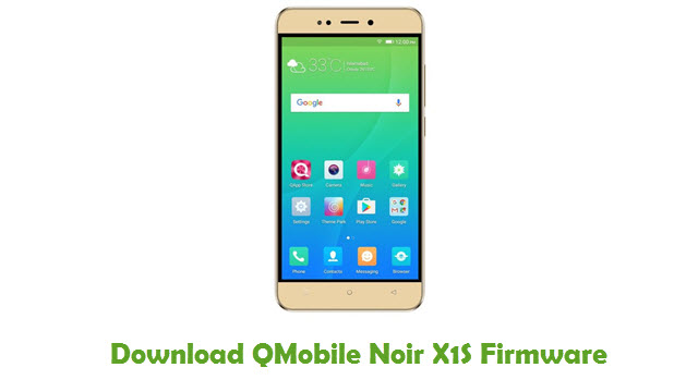 Download QMobile Noir X1S Firmware
