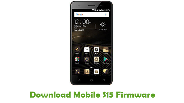 Download QMobile S15 Firmware