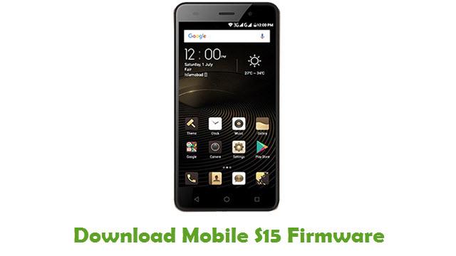 Download QMobile S15 Stock ROM