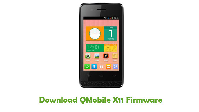 Download QMobile X11 Firmware