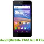 QMobile X700 Pro II Firmware