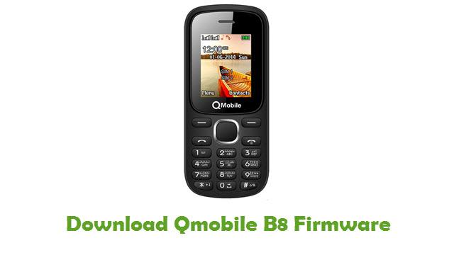 Download Qmobile B8 Firmware