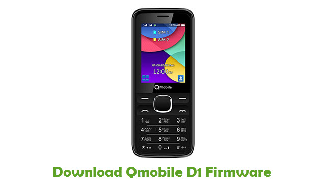 Download Qmobile D1 Firmware
