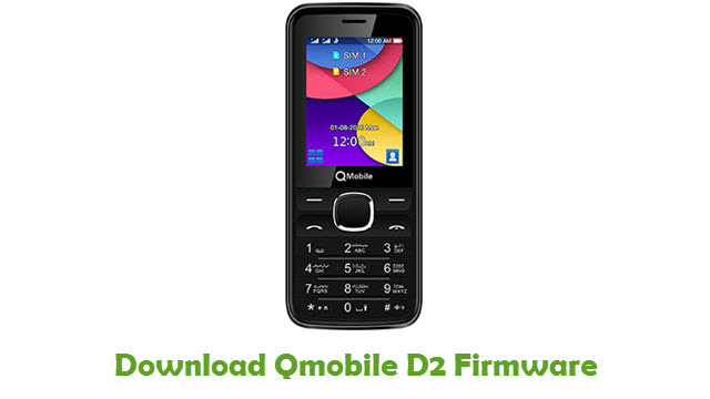 Download Qmobile D2 Firmware