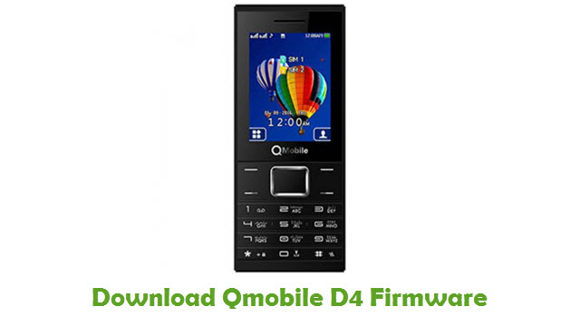 Download Qmobile D4 Firmware