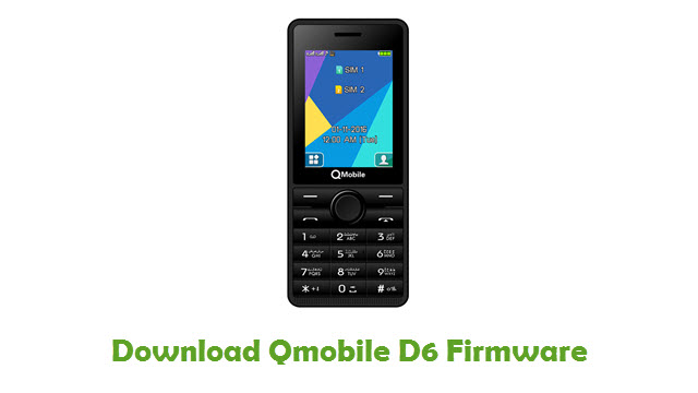 Download Qmobile D6 Firmware
