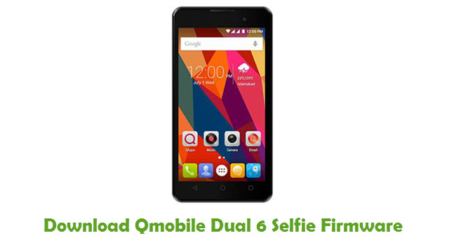 Download Qmobile Dual 6 Selfie Firmware
