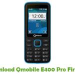 Qmobile E400 Pro Firmare