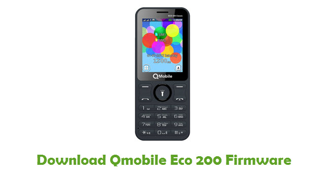 Download Qmobile Eco 200 Firmware