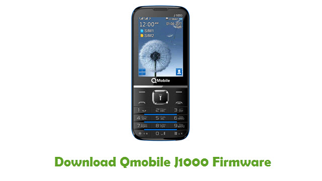 Download Qmobile J1000 Firmware