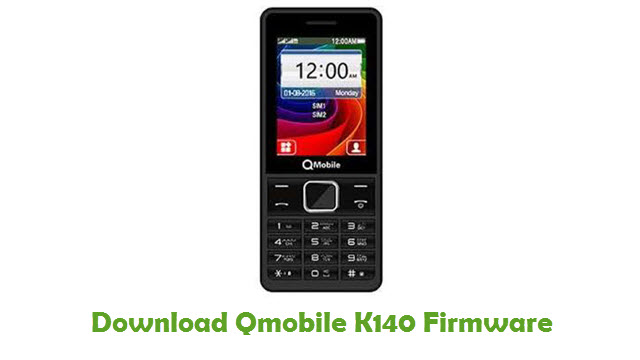 Download Qmobile K140 Firmware