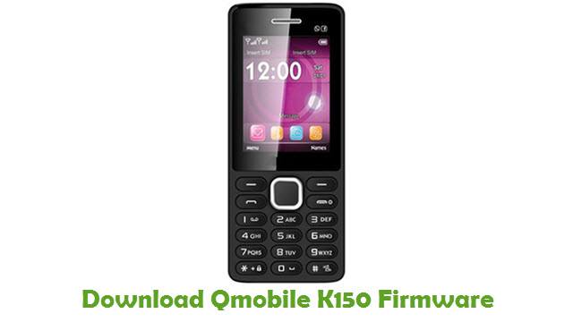 Download Qmobile K150 Firmware