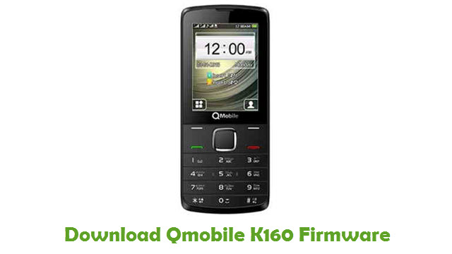 Download Qmobile K160 Firmware
