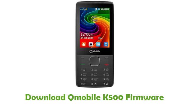Qmobile K500 Stock ROM