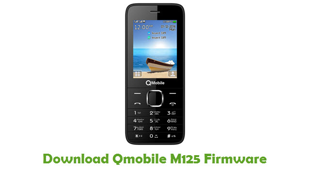 Download Qmobile M125 Firmware