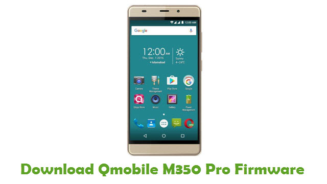 Download Qmobile M350 Pro Firmware