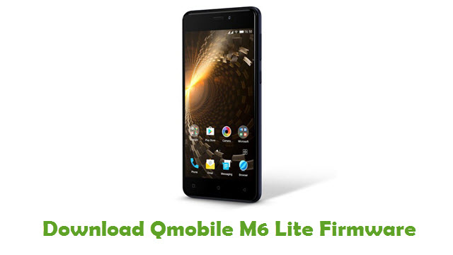 Download Qmobile M6 Lite Firmware
