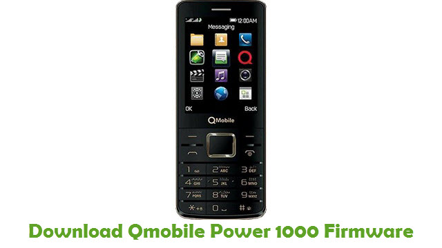 Download Qmobile Power 1000 Firmware