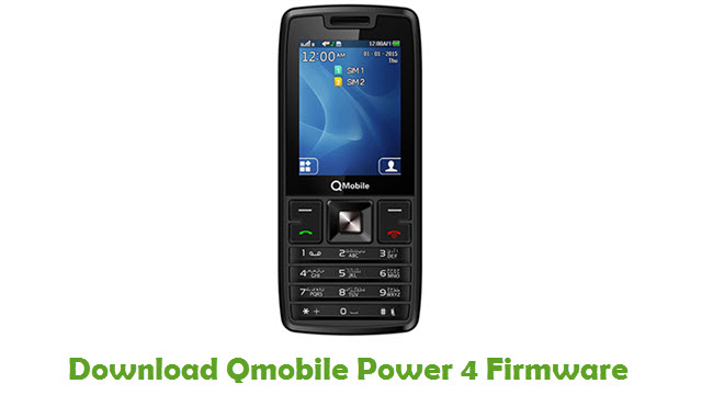 Download Qmobile Power 4 Firmware