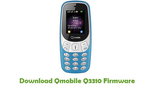 Download Qmobile Q3310 Firmware