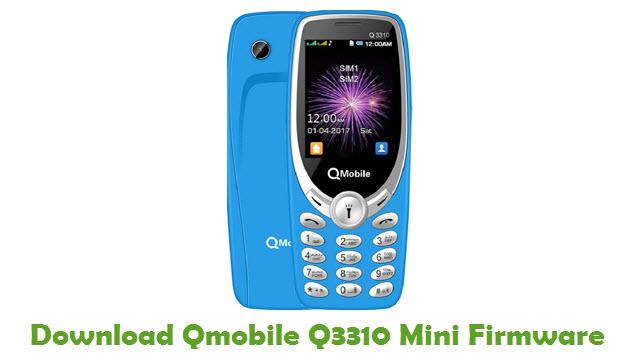 Download Qmobile Q3310 Mini Firmware