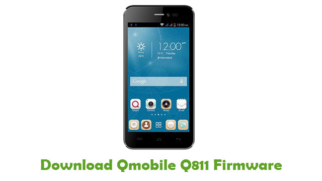 Download Qmobile Q811 Firmware