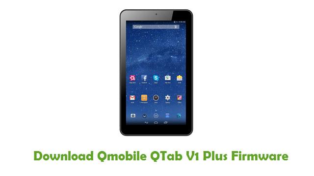 Download Qmobile QTab V1 Plus Firmware