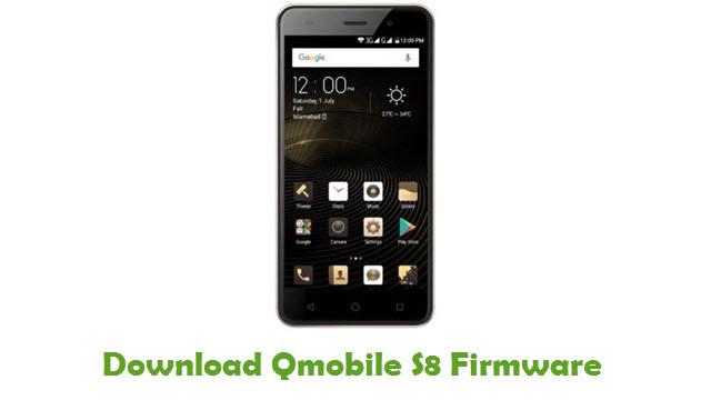 Download Qmobile S8 Firmware