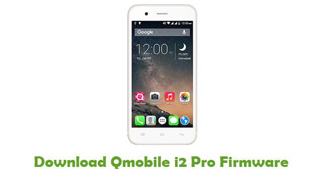 Download Qmobile i2 Pro Firmware
