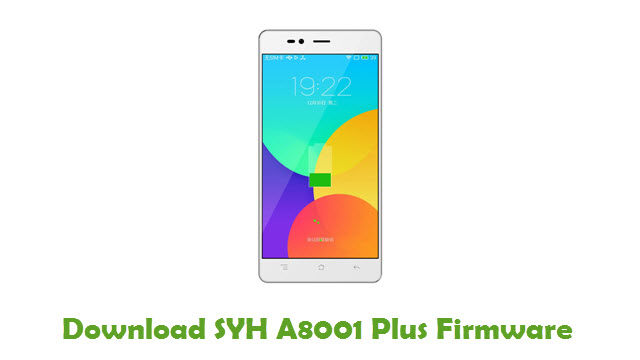 SYH A8001 Plus Stock ROM