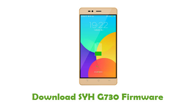 SYH G730 Firmware