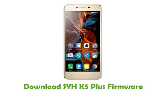 SYH K5 Plus Stock ROM