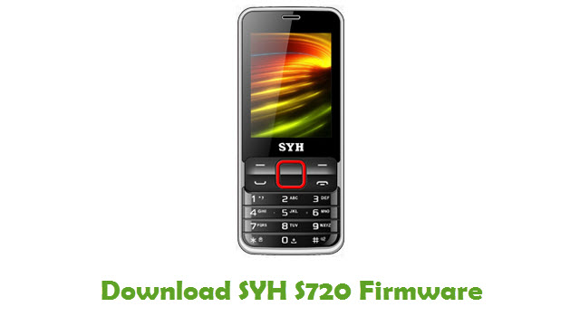 SYH S720 Stock ROM