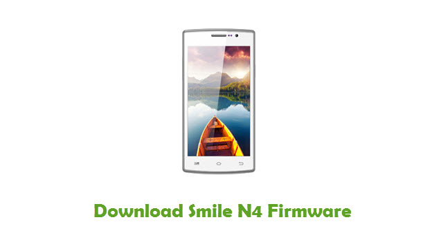 Download Smile N4 Stock ROM
