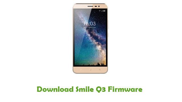 Smile Q3 Stock ROM
