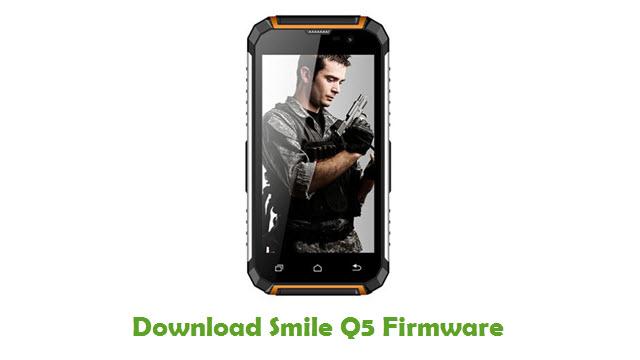 Smile Q5 Stock ROM