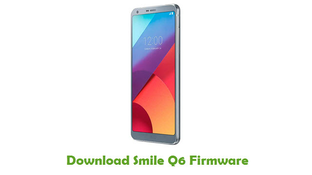 Download Smile Q6 Stock ROM