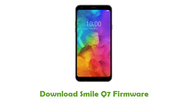 Download Smile Q7 Firmware