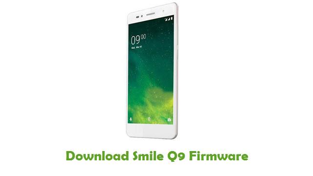 Download Smile Q9 Stock ROM